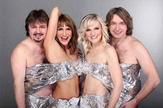 Skupina Abba Stars v původní sestavě