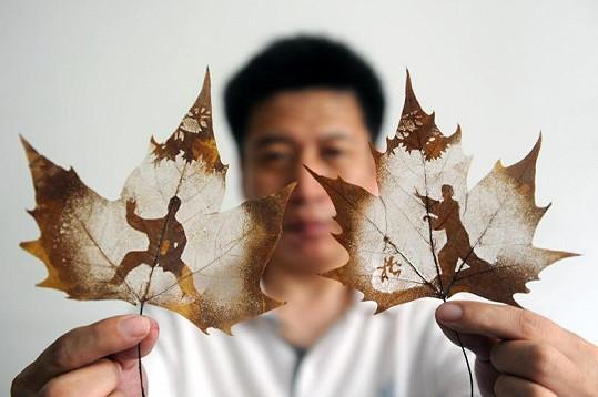 Chen a jeho výtvory.