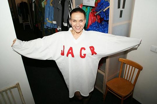 Jana Rychterová si tentokrát udělala srandu z Jágra.