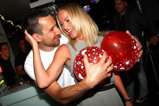 DJ Uwa a Martina Pártlová jsou blízcí přátelé.