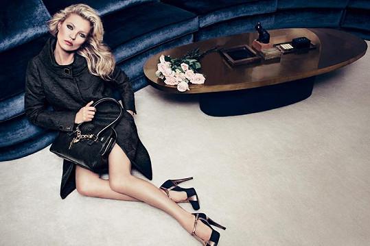 Kate Moss v kampani na džíny Liu Jo opět předvedla své ladné křivky.