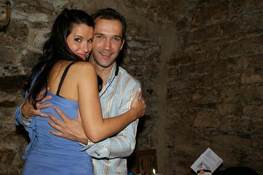 Petr Kroutil a Barbora SWINX Řeháčková. Hezký páreček, co říkáte?