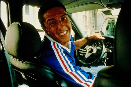 Samy Naceri jako řidič ve filmové sérii Taxi.