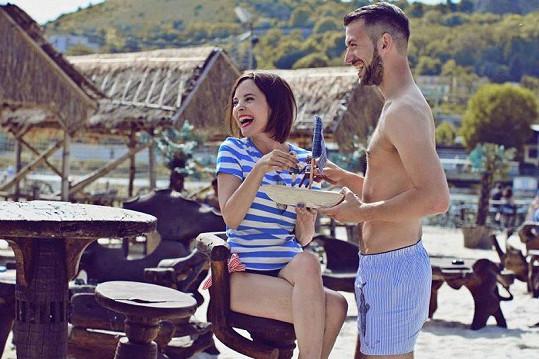 Kristýna Janáčková nedávno fotila módní kampaň.