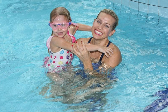 Tereza s dcerou Emily.