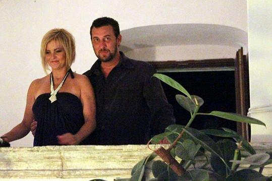 Zámecký páreček Iveta a Domenico.