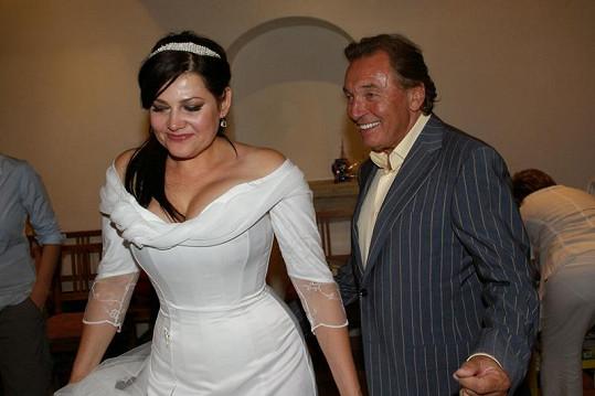 Ilona s Karlem měli z tance radost.