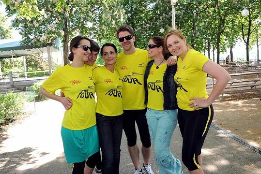 Herci z Cest domů poběží pro charitativní projekt pro motolskou nemocnici.