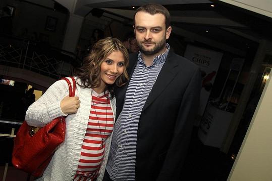Eva Decastelo s manželem Reném.