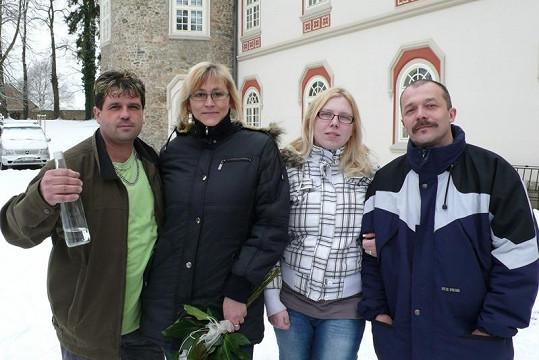 V dnešní Výměně se představí manželé Mikeskovi (vlevo) a Mauleovi.