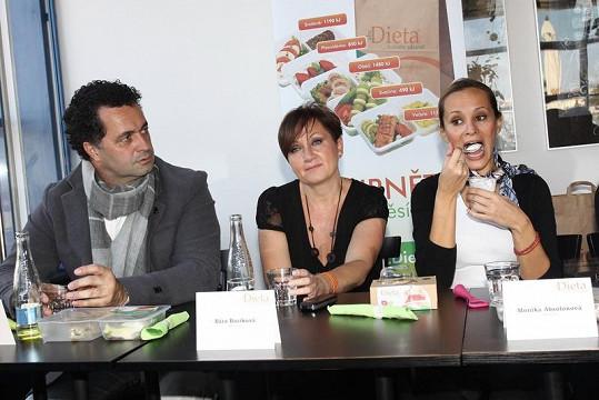 Martin Dejdar, Bára Basiková i Monika Absolonová chtějí shodit kila navíc.