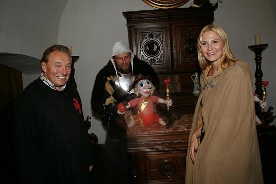 Karel, Ivana a Láskulín.