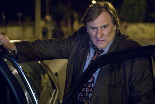 Gérard Depardieu napadl v Paříži automobilistu.