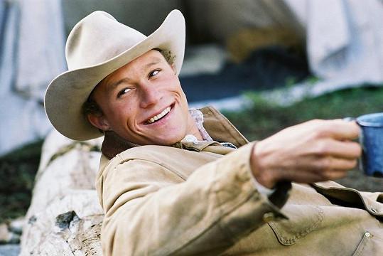 Heath ve své nejslavnější roli ve filmu Zkrocená hora.