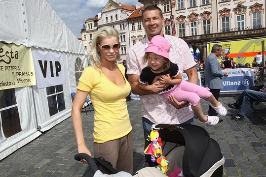Romana a Petr zatím o třetím dítěti neuvažují.