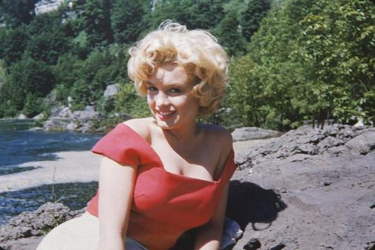 Marilyn Monroe na začátku své kariéry.
