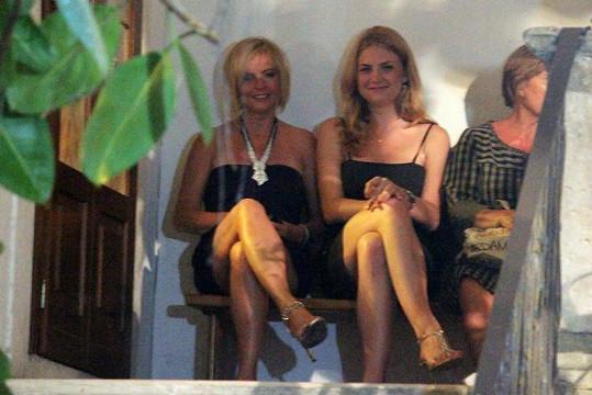 Iveta Bartošová si už našla v Itálii kamarádku.