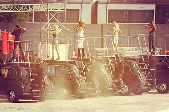 Spice Girls opět spolu.