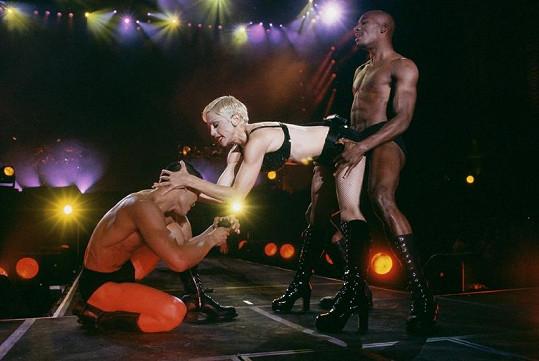 Popová zpěvačka uměla vždy šokovat i během svých koncertů.
