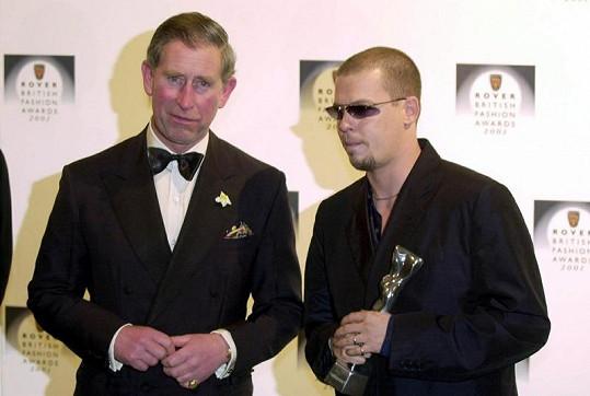 Alexander McQueen s princem Charlesem.
