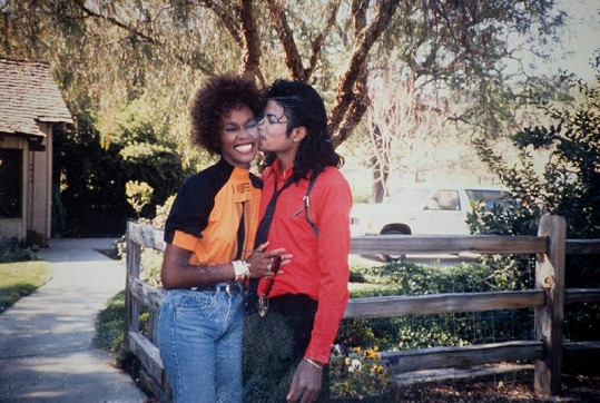 Michael Jackson a Whitney Houston na vrcholu kariéry.
