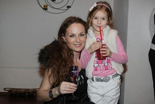 Markéta Hrubešová s dcerkou Christel.