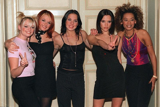Spice Girls na vrcholu slávy v roce 1997.