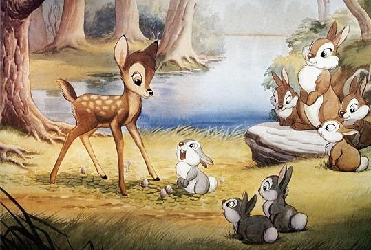Bambi podle Disneyho.