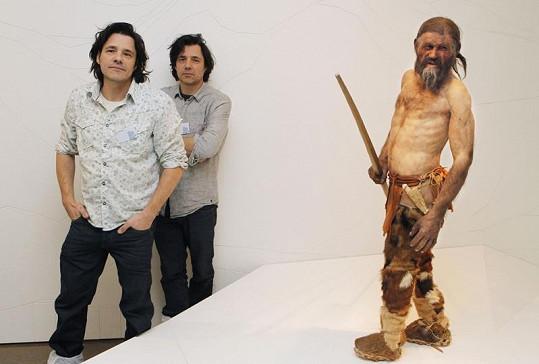 Za vytvořením modelu Ötziho stojí dvojice holandských umělců.