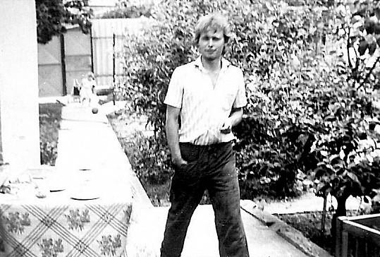 Násilnický bratr Jarka Šimka Ota na archivním snímku.