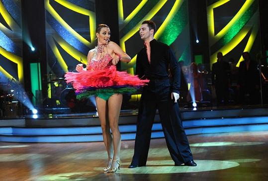 Barbora Poláková má perfektně tvarované nohy.