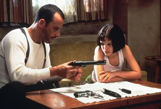 Natalie s Jeanem Renem ve filmu Leon.