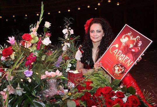 Carmen patří k jejím nejoblíbenějším muzikálům.