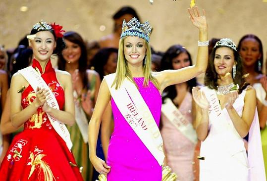 Rosanna Davison se v roce 2003 stala Miss World.