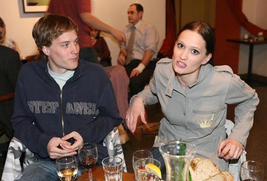 Natálie s partnerem Štěpánem Vránou.