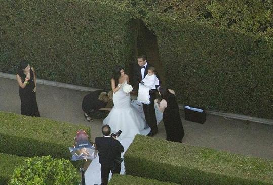Svatba známého páru se konala teprve před nedávnem.