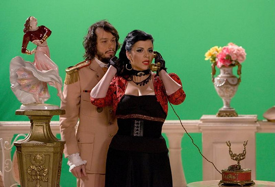 Hvězdami nefalšované lopucké telenovely budou Pavel Liška a Andrea Kalivodová.