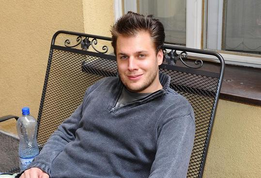 Nová láska Tomáše Savky je o jedenáct let starší.