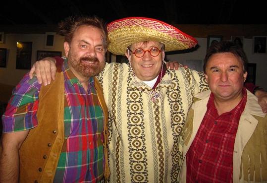 Krejčí, Náhlovský a Sypal dostali novou hereckou příležitost.