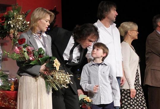 I Janek Ledecký, autor muzikálu, obdivoval Filipa, že představení zvládl dohrát i se zraněním.