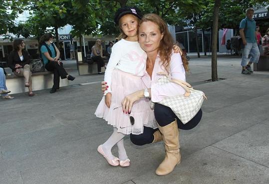 Markéta Hrubešová a její dcerka jsou velké parádnice.