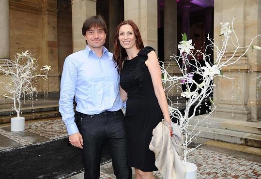 Slovenský miliardář Igor Rattaj s manželkou.