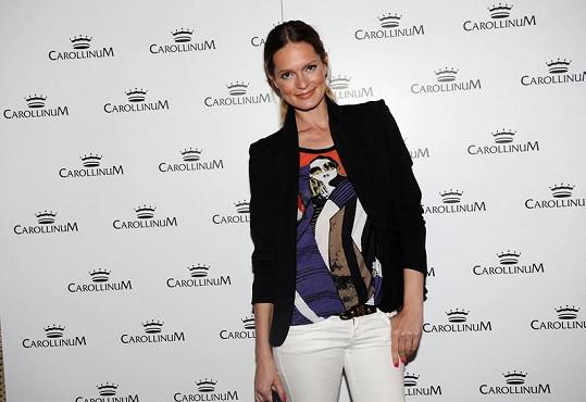 Modelka Karolína Bosáková spolupracuje s Tamarou již několik let.