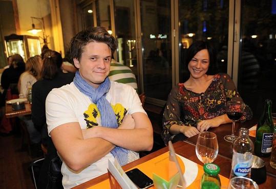 Ondřej Brzobohatý s manželkou Johankou už žijí odděleně.