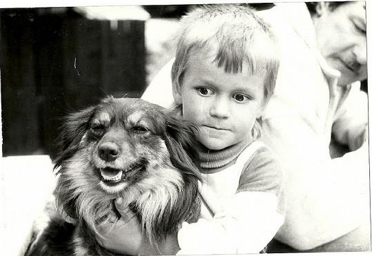 Marek byl rozkošný chlapeček.