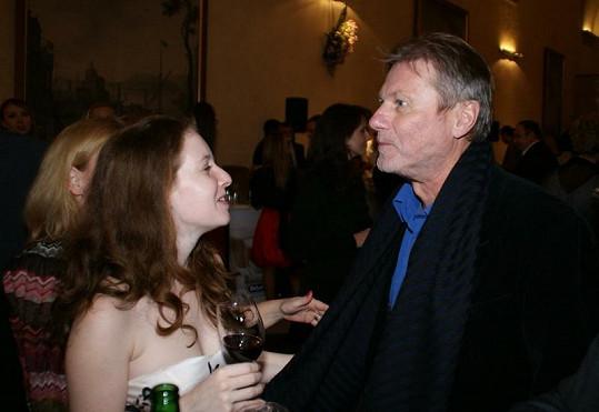 Merta s dcerou Juraje Herze Annelií na finále akce Grand Restaurant Festival.
