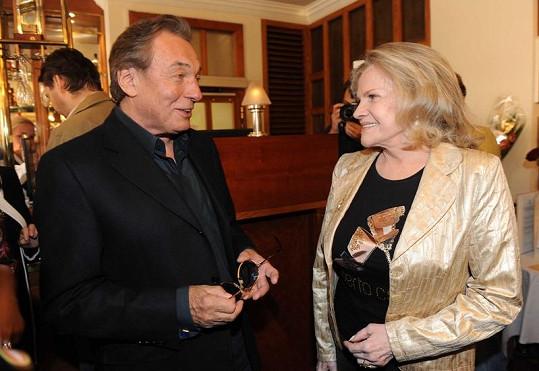 Eva Pilarová a Karel Gott.