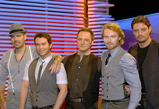 Ronan Keating a skupina Boyzone, která jej proslavila.