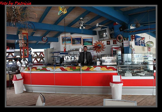 Domenico ve své restauraci.