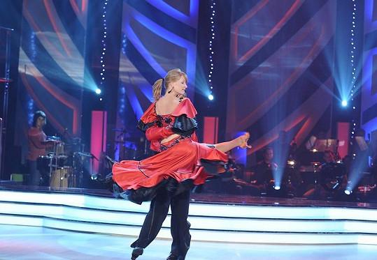 Martin Procházka a Tereza Bufková tančí ve StarDance.